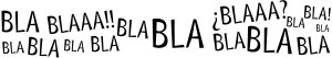 blablabla