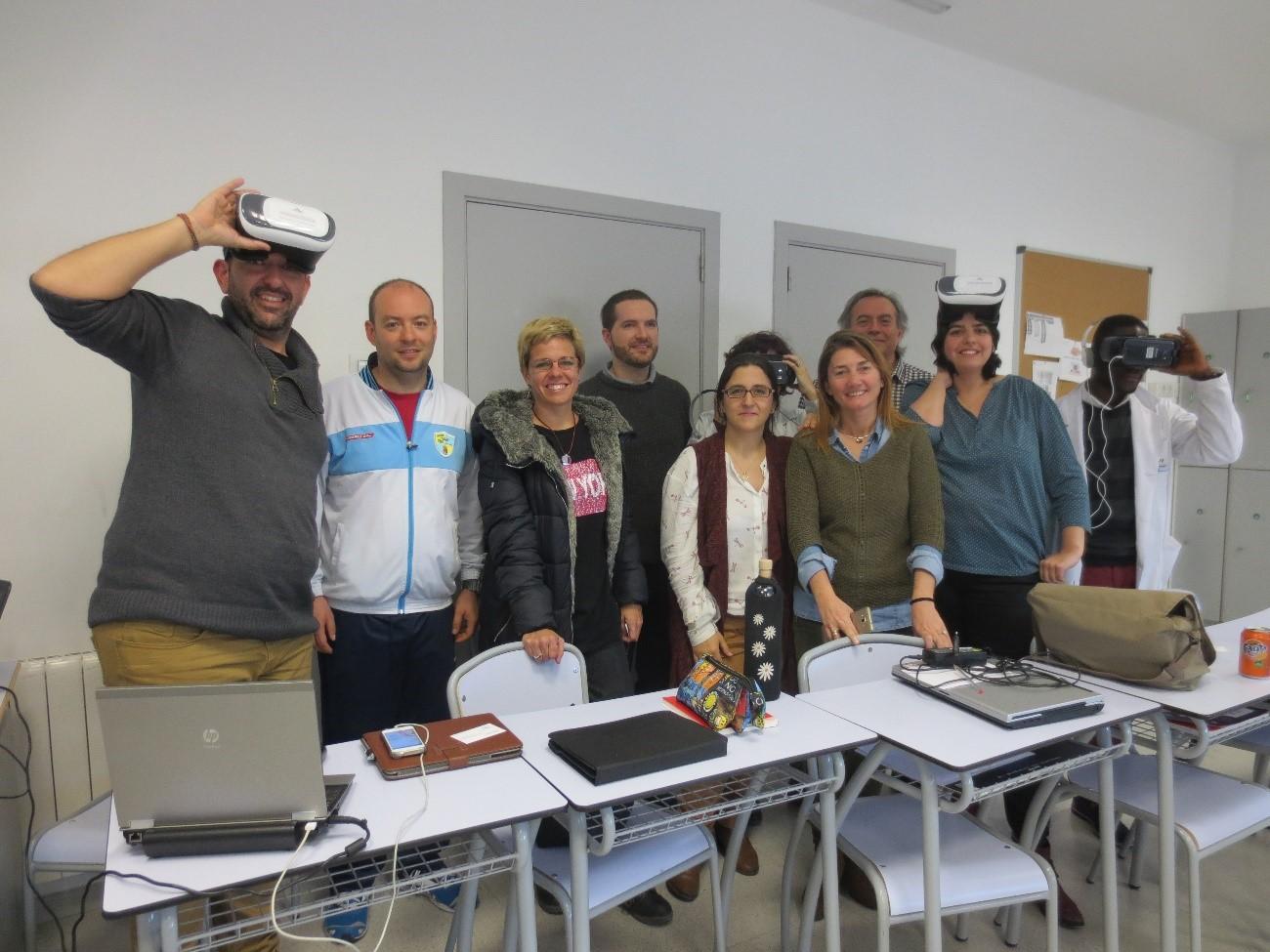 Profesores Workshop VR